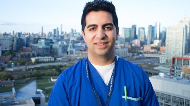 Sahand Ensafi, a physician assistant